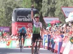 Ben King gana en la Sierra de Alfaguara en La Vuelta a España