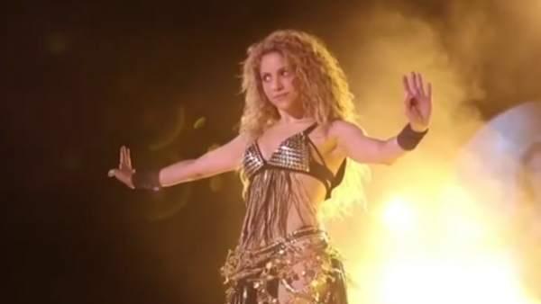 Shakira se ve envuelta en otra polémica independentista
