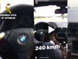 Video del conductor de 240km/h.
