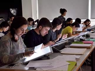 Alumnos de la Universitat Politècnica