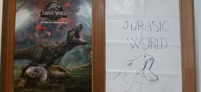 Póster de 'Jurassic World'