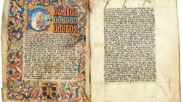 Documento sobre la familia de Porcuna de Los Mazuelos, datado en 1518.