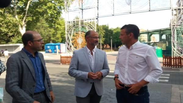 Palencia.- Fuentes, junto a dirigentes de Cs en Palencia