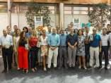 Imagen de grupo de los participantes en la reunión de Gullón