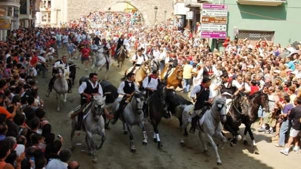 Imagen de archivo de una edición de los festejos