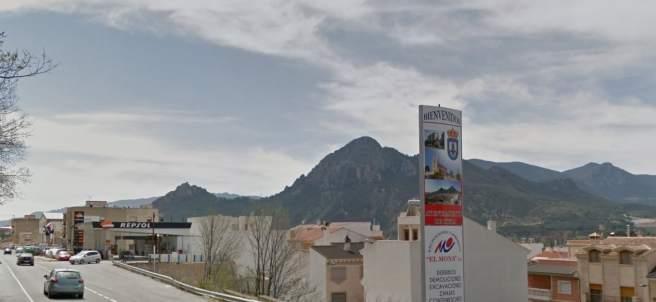 Una de las entradas a Cieza (Murcia), donde ha tenido lugar el suceso