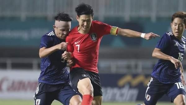 Son Heung-Min, en la final de los Juegos Asiáticos 2018.