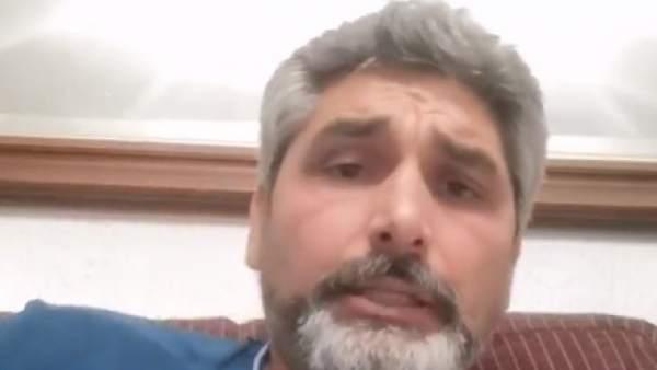 Juan José Cortés, en su comunicado a través de Facebook