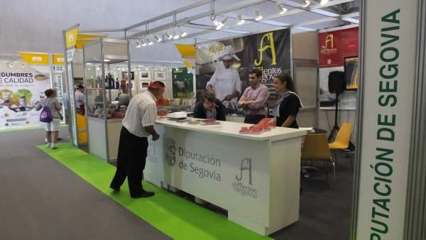 Imagen del expositor de Segovia