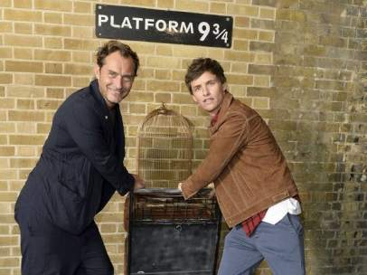 Jude Law y Eddie Redmayne