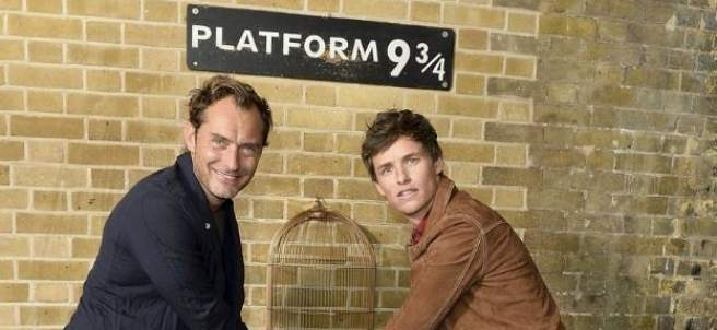 Jude Law y Eddie Redmayne