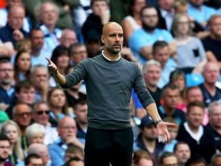 Guardiola, entrenador del Manchester City.