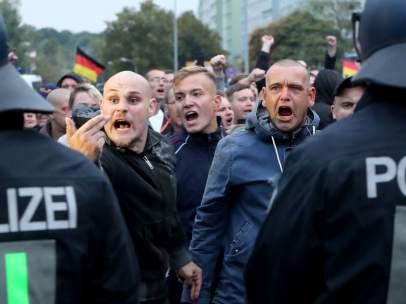 Tensión en Chemnitz