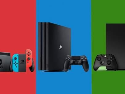 PS4, Nintendo Switch y Xbox One