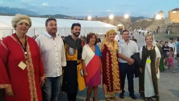 Soro asiste a la Morisma de Aínsa (Huesca).