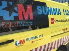 Ambulancia del SUMMA 112