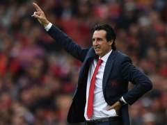Unai Emery, técnico del Arsenal.