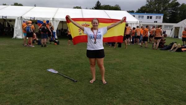 La alumna de la UPCT, medalla de bronce