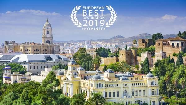 Málaga, nominada a mejor destino europeo 2019