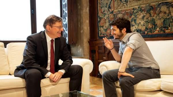 Xio Puig y Antonio Estañ