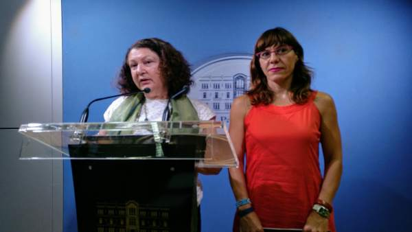 Mae de la Concha y Laura Camargo