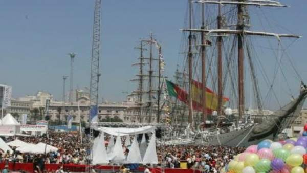 Puerto de Cádiz en la Gran Regata 2016