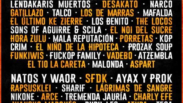Festardor tanca el cartell amb més de 50 artistes i amplia a tres els seus escenaris