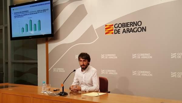 Adrián Gimeno, en el balance de este lunes.