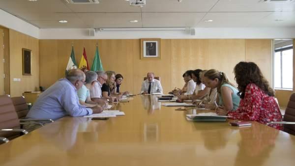 Junta de gobierno de la Diputación