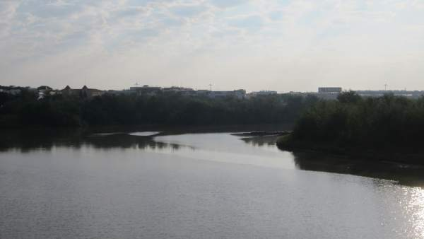 El río Guadalquivir a su paso por la capital cordobesa