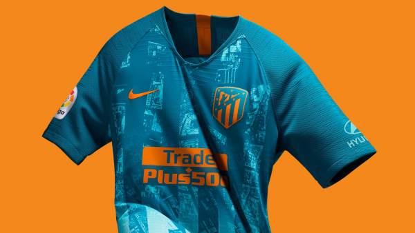 6374e957b5ba8 La tercera camiseta del Atlético de Madrid es un mapa