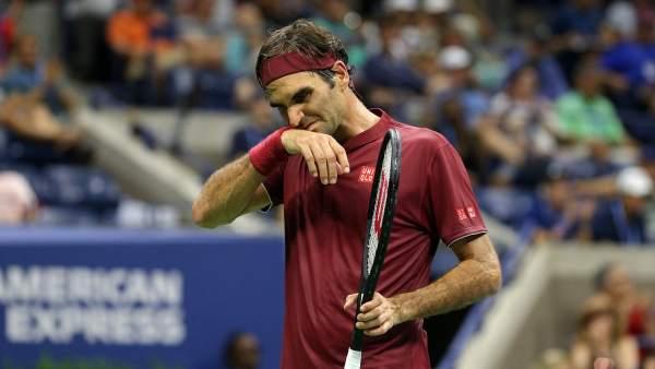 Roger Federer se lamenta