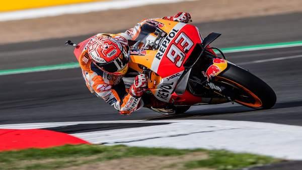 El piloto de MotoGP Marc Márquez (Repsol Honda)