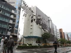 Daños causados por el tifón Jebi en Osaka, Japón.