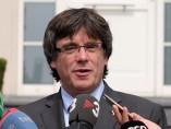 Carles Puigdemont atiende a la prensa en Waterloo (Bélgica).