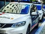 Mossos d'Esquadra coche patrulla en una imagen de archivo