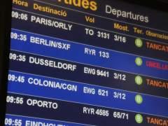 Ryanair cancela 8 % de sus vuelos el viernes por la huelga de tripulantes