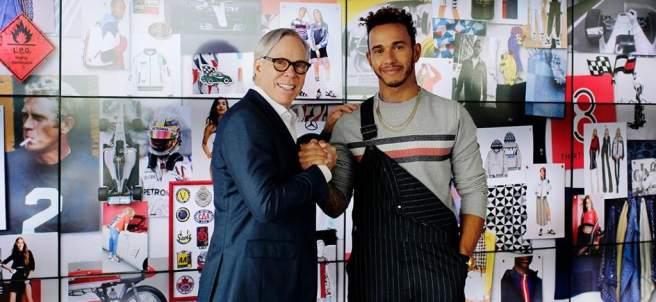 Tommy Hilfiger y Lewis Hamilton