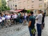 Concentración frente al Parlamento de La Rioja