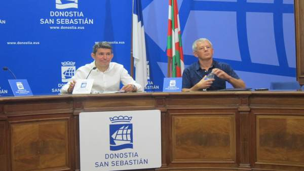 Ramos y Farias en San Sebastián.