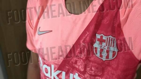 El llamativo diseño de la tercera camiseta del Barça f3781eb877637