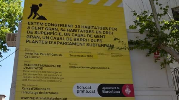Ca l'Isidret, un nuevo equipamiento para el distrito de Sant Martí con dotación de pisos de alquiler asequible.