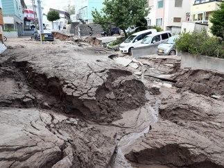 Las fotos más impactantes del terremoto de Japón