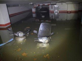 Los destrozos del diluvio en Barcelona, en imágenes