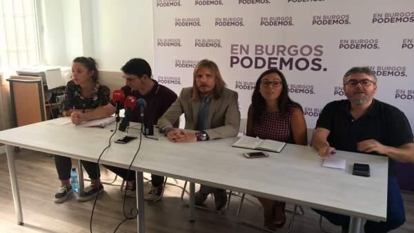 Blanca Guinea, Raúl Salinero, Pablo Fdez, Laura Domínguez e I. Lacámara 6-9-2018