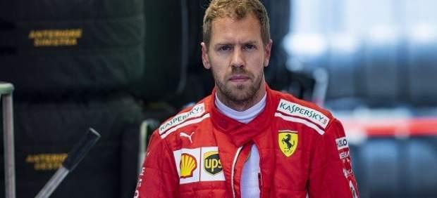 Vettel saca pecho en su momento más bajo: