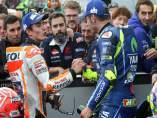 Marc Márquez (Repsol Honda Team) Valentino Rossi (Movistar Yamaha MotoGP)
