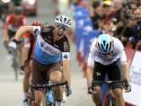 Geniez  gana la duodécima etapa de La Vuelta por delante de Van Baarle.