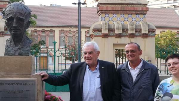 Ernest Maragall, Miquel Pueyo y Gemma Espigares