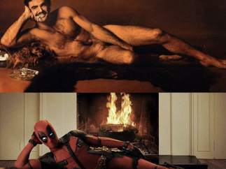 Burt Reynolds y Deadpool